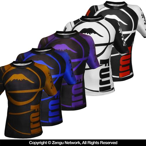 Fuji Fuji BJJ Ranked Rashguards - Short Sleeve